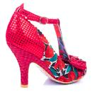 Bloxy IRREGULAR CHOICE  Floral Vintage Heels