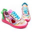 Irregular Choice x Care Bears Hugs Rule! Retro 80s Trainers
