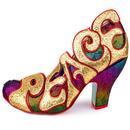 Choose Love IRREGULAR CHOICE Retro Rainbow Heels G