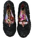 Dazzle Razzle IRREGULAR CHOICE Retro Lace Heels