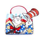 Irregular Choice x Dr Seuss Cat In The Hat I Know New Tricks Bag