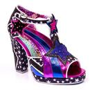Irregular Choice Eres Hermosa 70s Shoes Black