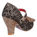 Fancy That IRREGULAR CHOICE Glitter Heels GOLD