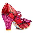 Fancy That IRREGULAR CHOICE Snake Print Heels P/R
