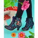 Forest Frolics IRREGULAR CHOICE Fox Boots (Blue)