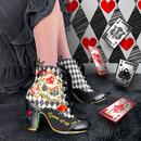 Full House IRREGULAR CHOICE Retro Boots in Black