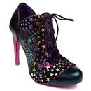 irregular choice halston star heel teal