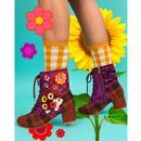 Hedge Hugs IRREGULAR CHOICE Hedghog Boots (P)