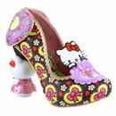 Irregular Choice x Hello Kitty Star Of The Show Heels in Black