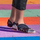 Holiday Romance IRREGULAR CHOICE Rainbow Flats B