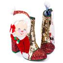 The Kringles IRREGULAR CHOICE Christmas Santa Boot