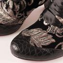 Lady Victoria POETIC LICENCE Floral Sequin Boots