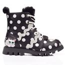 Lexie IRREGULAR CHOICE Kitten Polka Dot Boots