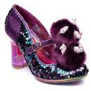 Irregular Choice Luce Mia Easter Bunny Heels in Purple