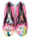 Little Misty IRREGULAR CHOICE Unicorn Heels Pink
