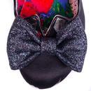 Nick of Time IRREGULAR CHOICE  Floral Silk Heels B
