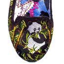 Panda Pop IRREGULAR CHOICE Embroidered Panda Flats