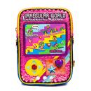 Irregular Choice Pocket Games Retro Bag in Pink