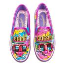 Power Up IRREGULAR CHOICE Retro Video Game Pumps