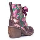 Quick Getaway IRREGULAR CHOICE Retro Floral Boot P