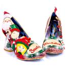 Santa's Helper IRREGULAR CHOICE Snowglobe Heels