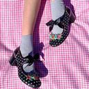 Strike A Posie IRREGULAR CHOICE Retro Ribbon Shoes