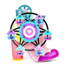 Irregular Choice Topsy Turvy Ferris Wheel Funfair Heels