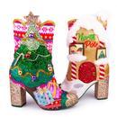 Irregular Choice Trees A Crowd Light Up Christmas Tree Heel Boots