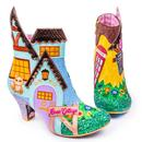 Irregular Choice Retro Limited Edition Village Fete Boots