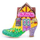 Village Fete IRREGULAR CHOICE Retro Heeled Boots