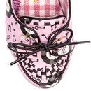 Rocktina IRREGULAR CHOICE 60s Style Glass Heels P