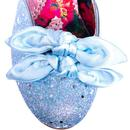 Flickety Kiss IRREGULAR CHOICE Glitter Heels BLUE