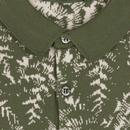 Kimball JOHN SMEDLEY Mod Jacquard Leaf Polo (SG)
