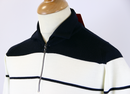 1008MSIG JOHN SMEDLEY Warm Up Zip Neck Polo Top