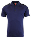 Kappa estrel taped sleeve polo shirt marine blue