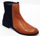 LACEYS WOMENS CHELSEA BOOTS AMYTH BOOTS 60s MOD