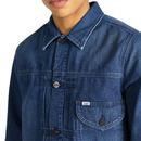 LEE JEANS Men's Retro Western Denim Cowboy Jacket