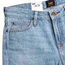 Elly LEE High Waist Slim Straight Denim Jeans (FL)