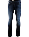 Lee luke slim tapered jeans Black ocean