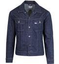 Pinstripe Rider LEE JEANS 70's Rinse Denim Jacket