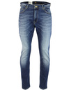 Rider LEE Mens Slim Leg Blue Surrender Denim Jeans