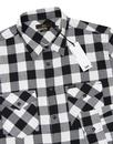 LEE Men's Retro Mod Oversize Gingham Western Shirt