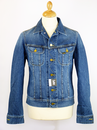 LEE JEANS DENIM JACKET RIDER JACKET 70s DENIM