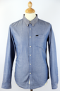 LEE Slim Fit Retro Mod Western Chambray Shirt (I)