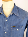 LEE Slim Fit Retro Denim Western Shirt (LS)