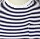 LEE Jeans Retro Indie Striped Mod Pocket T-shirt B