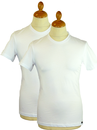 LEE JEANS TWIN PACK T-SHIRTS WHITE RETRO T-SHIRTS