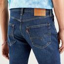 LEVI'S 412 Slim Denim Shorts (Hi Bye Bye Adv)
