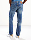 LEVI'S® 501 Men's Original Straight Jeans TEDESCO
