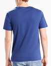 LEVI'S® Retro 60s Psychedelic Logo T-Shirt BLUE